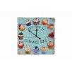 Besp-Oak Furniture Square Wooden Cake Time Clock