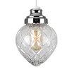 MiniSun 14,5 cm Lampenschirm Aphrodite aus Metall/Glas