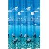 Tropik Home Dolphin Shower Curtain