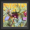 Wildon Home 'Tropical Sunshine' Framed Graphic Art Print