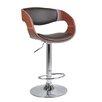 Hokku Designs Adjustable Height Swivel Bar Stool