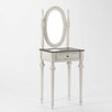 Lily Manor Ugo Dressing Table with Mirror
