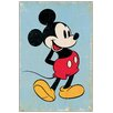 House Additions Mickey Mouse Retro Vintage Advertisement on Wood