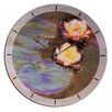 """House Additions Oversized 60"""" Monet Nympheas Wall Clock"""