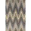 World Menagerie Luciano Hand-Tufted Steel Gray Area Rug