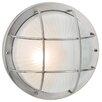 Hokku Designs Court 1 Light Outdoor Bulkhead Light