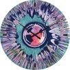 Hazelwood Home Abstract Eye Wall Clock