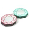 Hokku Designs Octagonal Mirror Coaster (Set of 8)