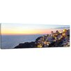Bilderdepot24 Oia Village Santorini Framed Photographic Print on Canvas