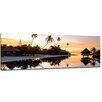 Bilderdepot24 Tropical Sunset II Framed Photographic Print