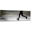 Bilderdepot24 Running Retro Framed Photographic Print on Canvas
