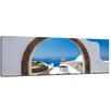 Bilderdepot24 Window to Paradise Framed Photographic Print on Canvas