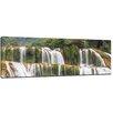 Bilderdepot24 Waterfall, Plitvice Croatia Framed Photographic Print