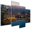 Bilderdepot24 Singapore 4 Piece Photographic Print on Canvas Set