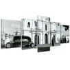 Bilderdepot24 Oldtimer in Cuba 5 Piece Photographic Print on Canvas Set