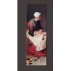 Bilderdepot24 'The Kitchen Maid' by Jean Siméon Chardin Framed Oil Painting Print on Canvas