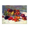 Bilderdepot24 'Still Life with Southern Fruits' by Pierre Auguste Renoir Framed Oil Painting Print on Canvas