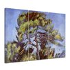 Bilderdepot24 'Large Pine' by Paul Cézanne 3 Piece Painting Print Set on Canvas