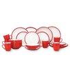House Additions 2 Tone 24 Piece Dinnerware Set