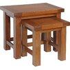 Homestead Living Inishturlin 2 Piece Nest of Tables Set