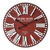 Castleton Home Oversized 3D Grand Hotel 60cm Wall Clock