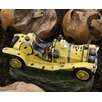 Hazelwood Home Polyresin Car Water Feature Fountain with Light