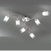 Franklite Campani 6 Light Ceiling Spotlight