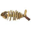 Castleton Home Driftwood Ornament Fish Figurine