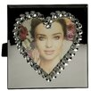 ChâteauChic Heart Mirrored Picture Frame
