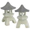 Design Toscano Pagoda Lantern Decorative Lantern (Set of 2)