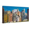 Marmont Hill 'Skyline New York City 3' Painting Print on Wrapped Canvas