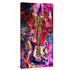 Marmont Hill 'Musical Rush' Painting Print on Wrapped Canvas