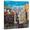 Marmont Hill 'Towards the Freedom Tower' Painting Print on Wrapped Canvas