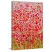 Marmont Hill 'Sea of Flowers' Painting Print on Wrapped Canvas
