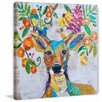 Marmont Hill 'Melody of Nature' Painting Print on Wrapped Canvas