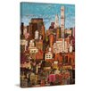 Marmont Hill 'Skyline New York City 1' Painting Print on Wrapped Canvas
