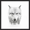Marmont Hill 'Wolf Spirit' Framed Photographic Print on Paper