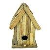 Castleton Home Driftwood Garden Free Standing Bird House