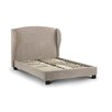 Fairmont Park Blenheim Velvet Wing Upholstered Platform Bed