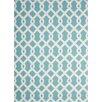 Waverly Sun n' Shade Blue/White Indoor/Outdoor Area Rug