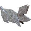 Home Loft Concept Standing Origami Card Rabbit Figurine