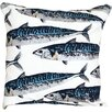 Witts Design Mackerel Cushion Cover