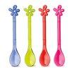 Koziol 4-tlg. Löffel-Set Happy Spoon A-Pril