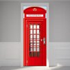 Home Loft Concept UK Telephone Booth 2m x 88cm Wall Mural