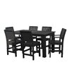 Darby Home Co Berry 7 Piece Bar Height Dining Set
