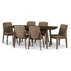 Langley Street Tahquitz Extendable Dining Set with 6 Chairs