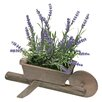Hokku Designs Rystic Lavender Flowering Plant in Decorative Vase