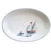 Abbiamo Tutto Sailboat Oval Platter