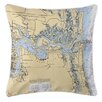 Island Girl Home Jacksonville, FL Throw Pillow