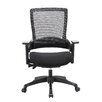 Home & Haus Molet Task Exec Mesh Desk Chair with Height Adjusting Arms